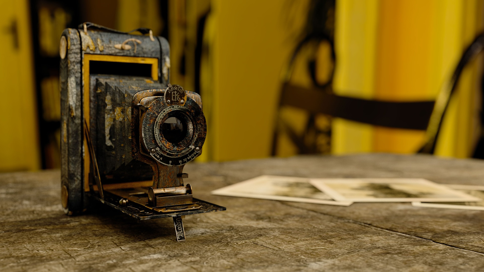 pic of vintage camera
