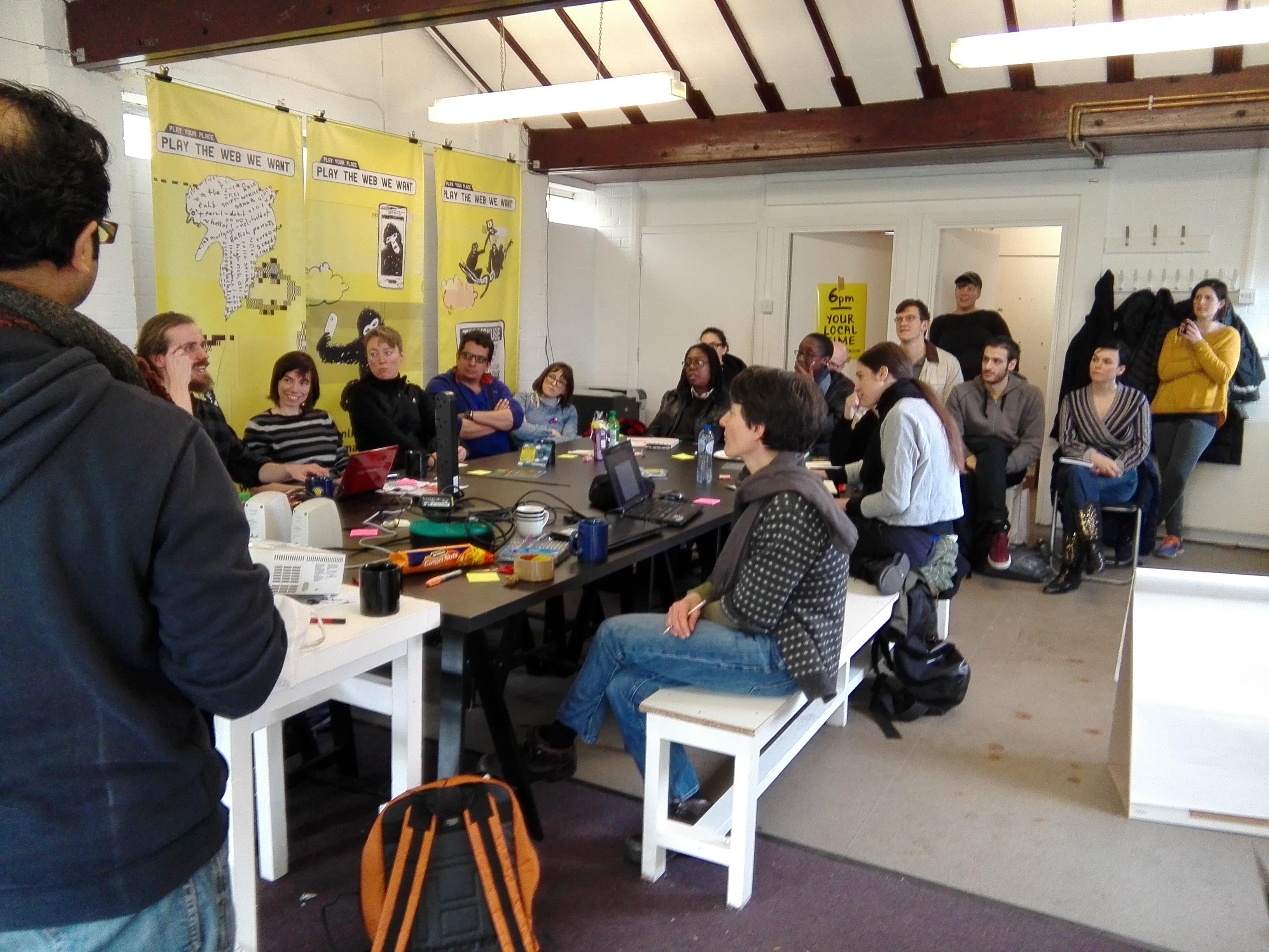 technology & gender workshop at furtherfield